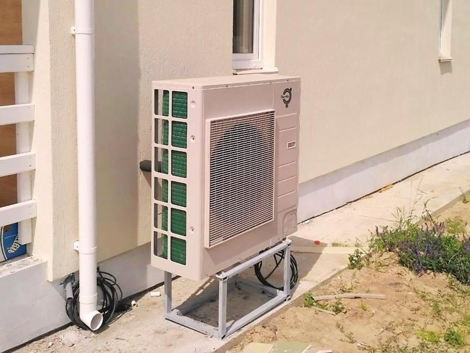 тепловой насос воздух вода с функцией кондиционирования